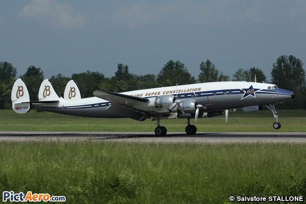 Lockheed C-121C Super Constellation (Breitling)