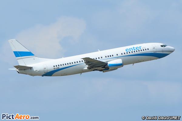 Boeing 737-46J (Enter Air)