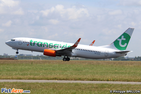 Boeing 737-8EH/WL (Transavia Airlines)