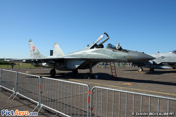 Mikoyan-Gurevich MiG-29AS Fulcrum (Slovakia - Air Force)