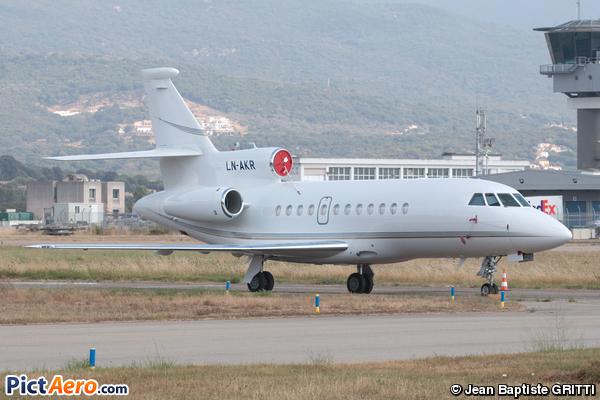 Dassault Falcon 900EX (Sundt Air Management)