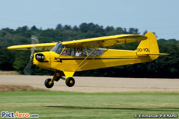 Piper L-4H Grasshopper  (J-3C-65D) (Untitled)