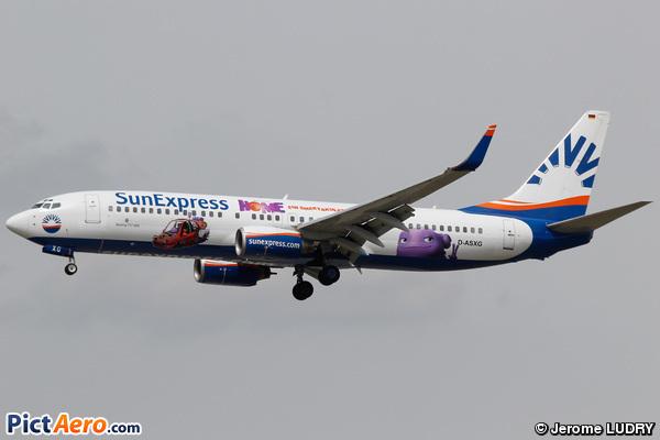 Boeing 737-8CX (SunExpress Deutchland)