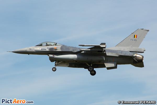 SABCA F-16AM Fighting Falcon (Belgium - Air Force)
