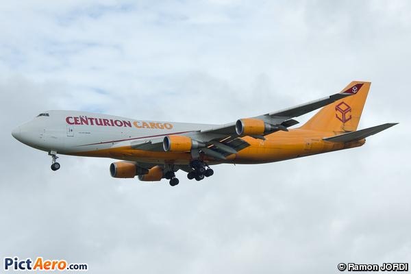 Boeing 747-428F/ER/SCD (Centurion Air Cargo)