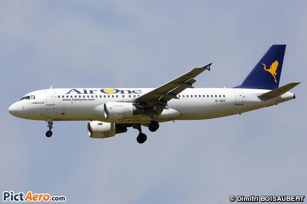 Airbus A320-216/WL (Air One)