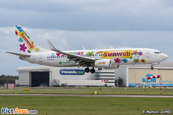 Boeing 737-8K2/W (Sunweb (Transavia Airlines))