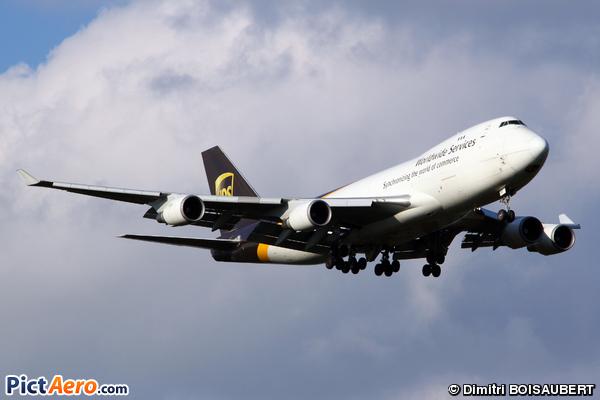Boeing 747-428F/ER/SCD (United Parcel Service (UPS))