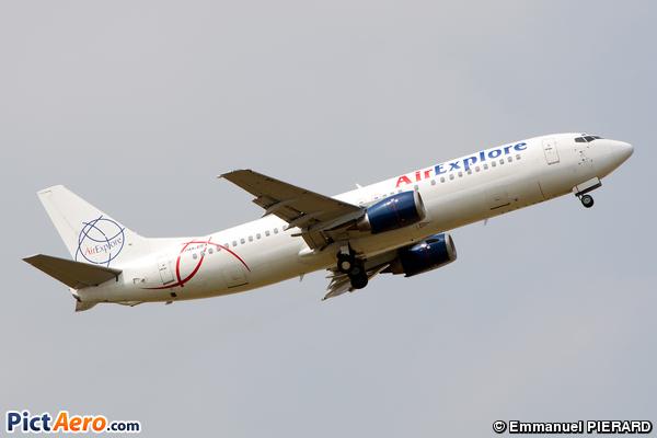 Boeing 737-4Q8 (Air Explore)