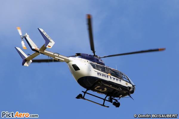 Eurocopter-Kawasaki EC-145 (BK-117C-2) (Germany - Police)