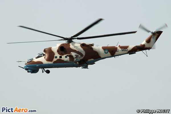 Mil Mi-35 (Djibouti - Air Force)
