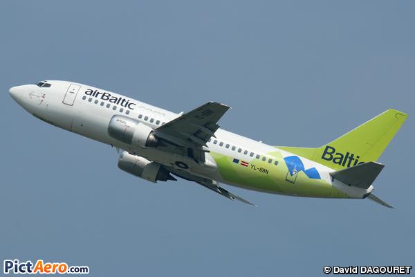 Boeing 737-522 (Air Baltic)