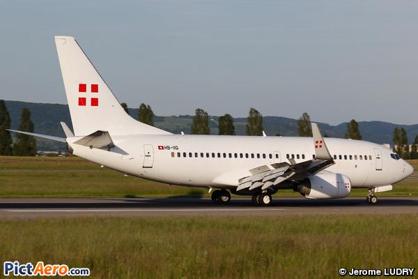 Boeing 737-7CN/BBJ (PrivatAir)