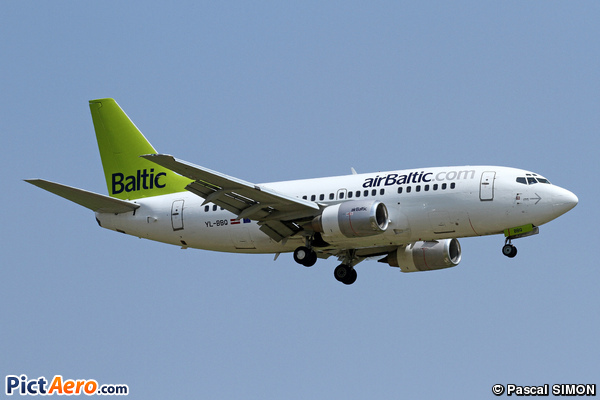 Boeing 737-522 (Air Baltic)