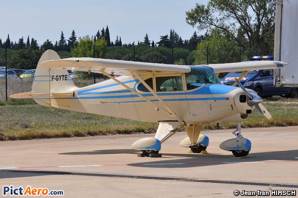 Piper PA-22-150 Tri-Pacer - F-GYTE (Privé / Private) by Jean