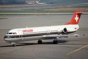 Fokker 100 (F-28-0100) (HB-IVA)