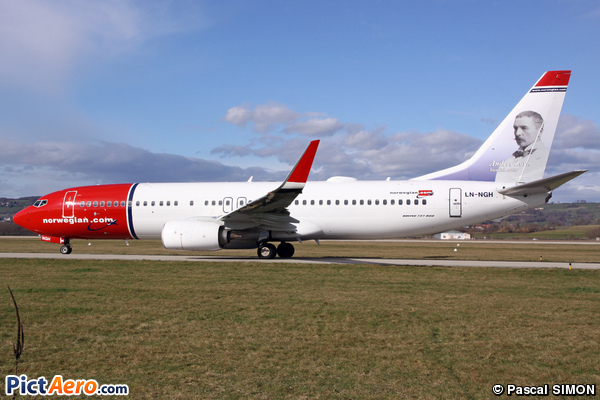 Boeing 737-8JP (Norwegian Air Shuttle)