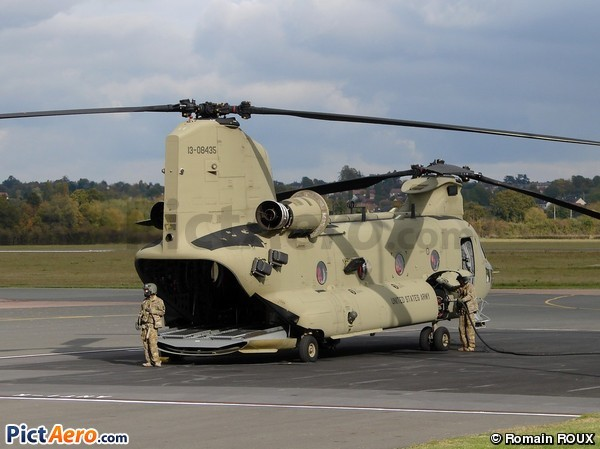 Boeing CH-47F Chinook (United States - US Army)