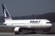 Boeing 767-204/SF (G-BKPW)