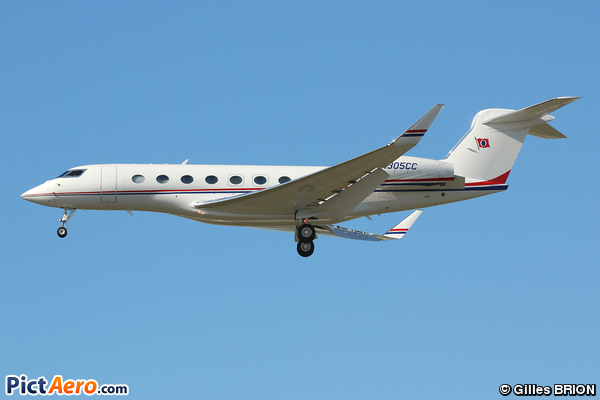 Gulfstream G650 (CARNIVAL CRUISE LINES)