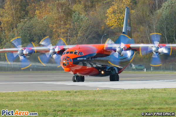 Antonov An-12BK (CAVOK Air)