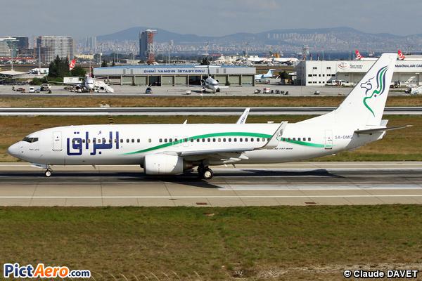 Boeing 737-8GK (Buraq Air)