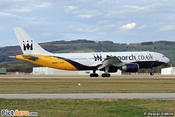 Airbus A300B4-605R (Monarch Airlines)