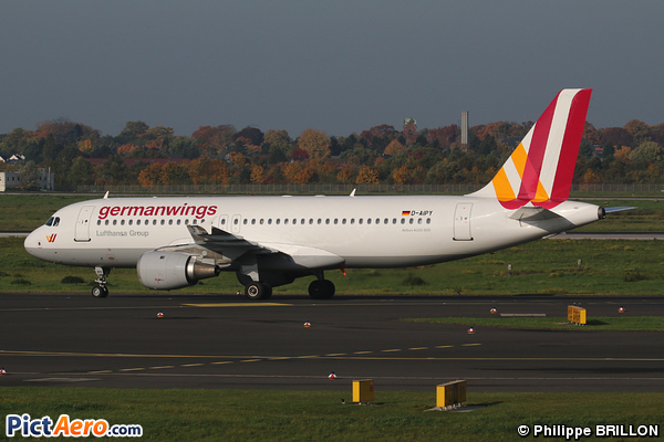 Airbus A320-211 (Germanwings)