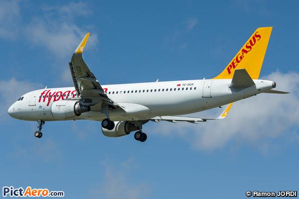 Airbus A320-214/WL (Pegasus Airlines)