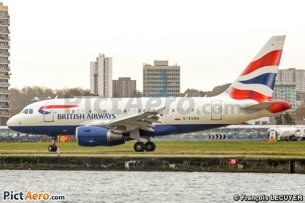 Airbus A318-112CJ Elite (British Airways)