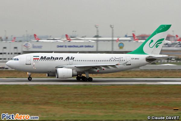 Airbus A310-304 (Mahan Air)