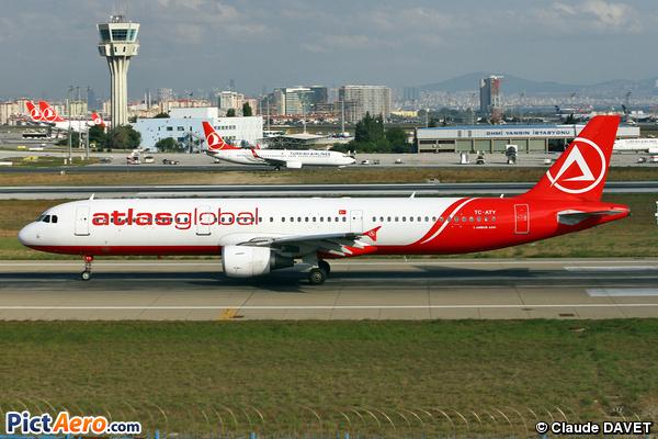 Airbus A321-211 (Atlas Global)