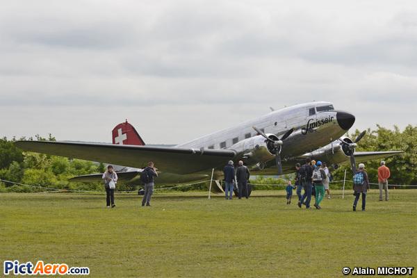 Douglas DC-3C (Swissair)