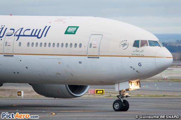 Boeing 777-268/ER (Saudi Arabian Airlines)