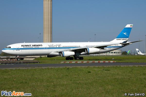 Airbus A340-313 (Kuwait Airways)
