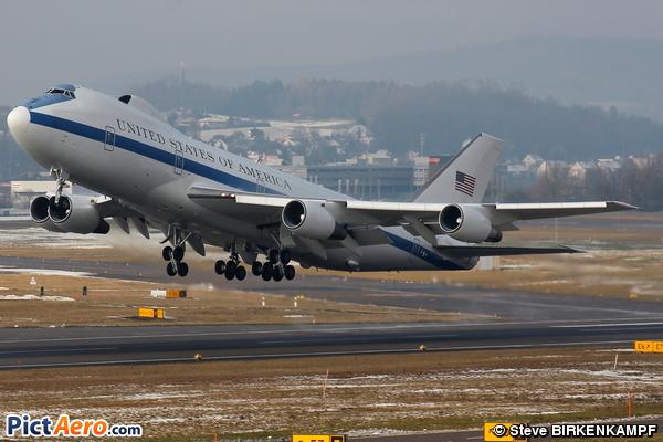 Boeing E-4B (747-200B) (United States - US Air Force (USAF))