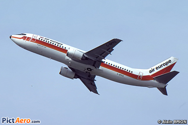 Boeing 737-4S3 (Air Europe)