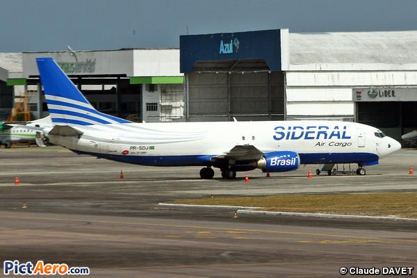 Boeing 737-4Y0/SF (Sideral Air Cargo)