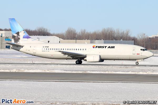 Boeing 737-406  (First Air)