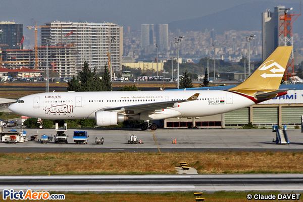 Airbus A330-202 (Libyan Arab Airlines)