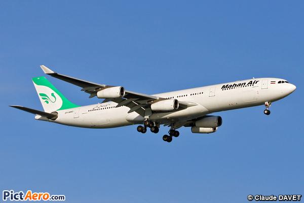 Airbus A340-313 (Mahan Air)