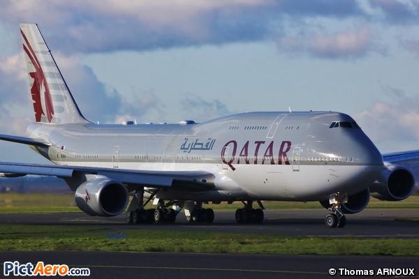 Boeing 747-8KB(BBJ) (Qatar - Amiri Flight)