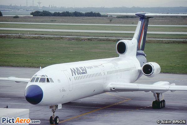 Tupolev Tu-154B-2 (Malév Hungarian Airlines)