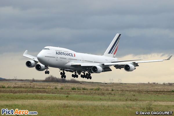 Boeing 747 428 f gitj air france par david dagouret for Interieur 747 air france