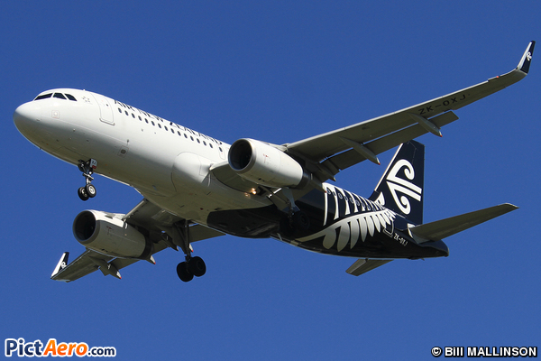 Airbus A320-232/WL (Air New Zealand)