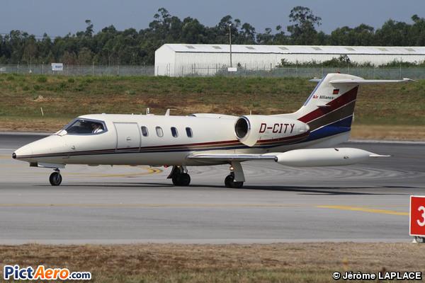 Gates Learjet 35A (Senator Aviation)