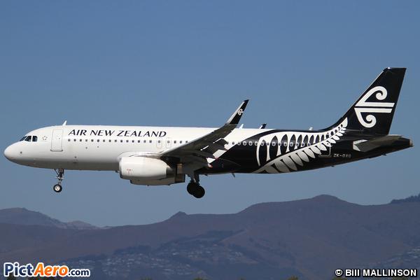 Airbus A320-232/WL (Air New Zealand)