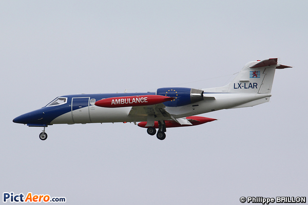 Learjet 35A (Luxembourg Air Rescue)