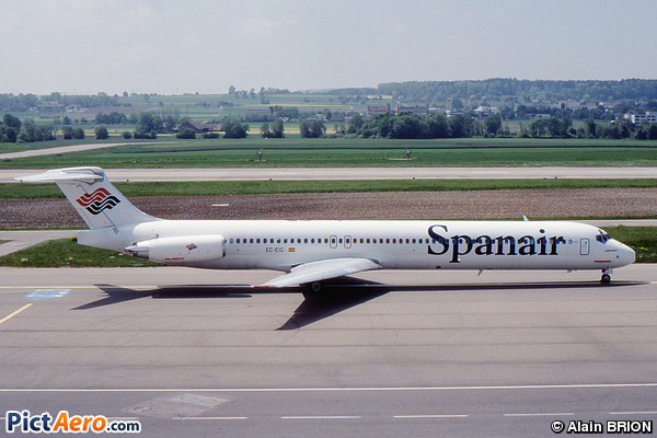 McDonnell Douglas MD-83 (DC-9-83) (Spanair)