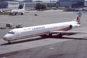 McDonnell Douglas MD-83 (DC-9-83) (EC-EKM)
